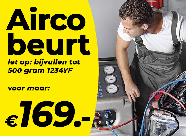 Nieuw koudemiddel voor uw auto airco. Hier verkrijgbaar!