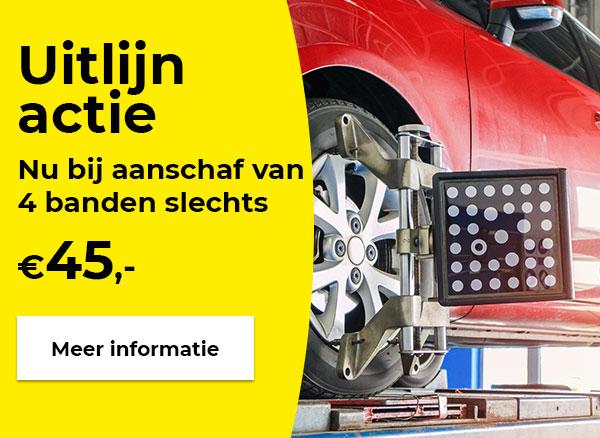 Laat je auto goed uitlijnen!